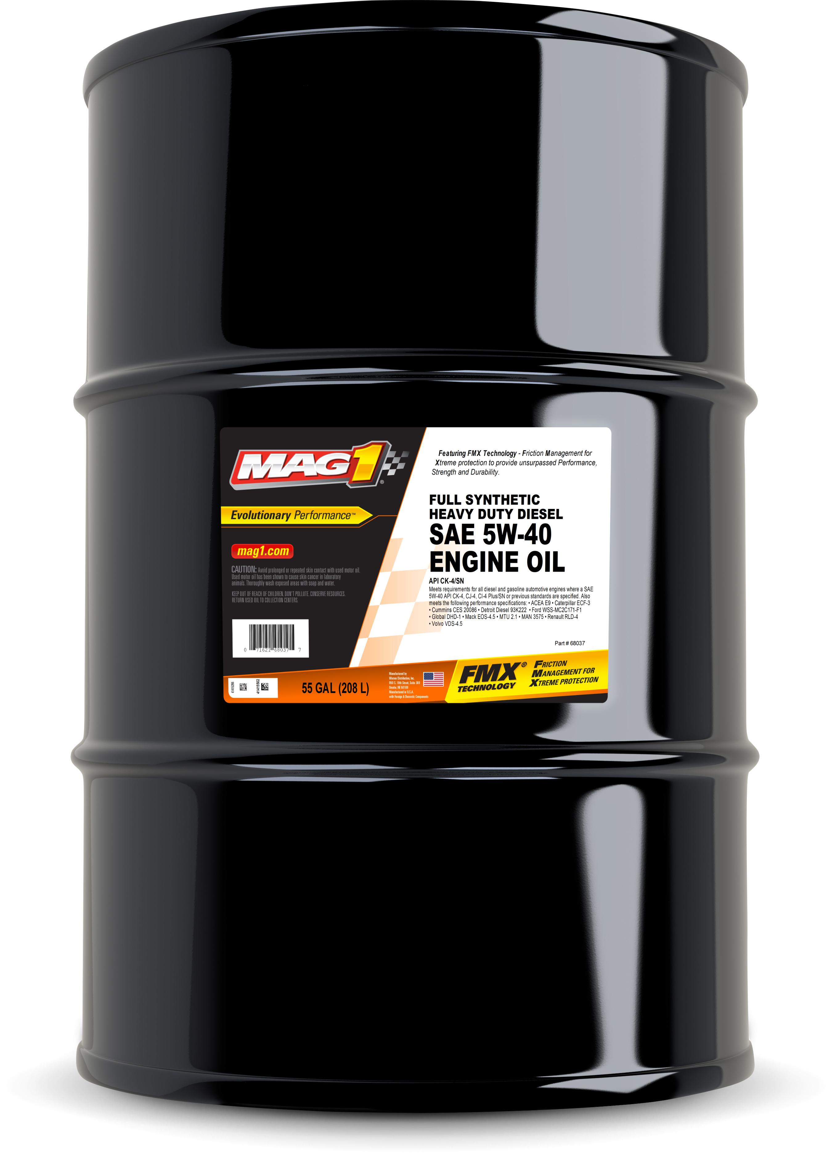 Lubricants - Gear Oils - Greases - MAG1 - FULL SYNTHETIC LUBRICANTS
